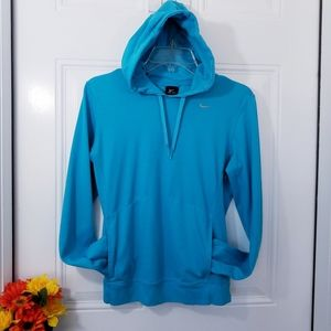 Nike Dri-Fit Pull Over Hoodie Sweatshirt Small